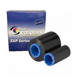 Zebra 800012-901 | Ribbon TRUE COLORS NEGRO K, 2500 Imagenes, Impresora ZXP8&9