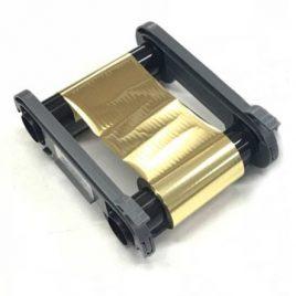 Zebra 800300-306 | Ribbon MONOCHROME-METÁLICO GOLD, 1500 Imágenes, ZC100/ZC300