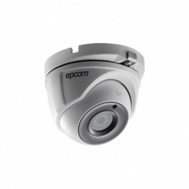 Camara tipo Eyeball TURBOHD 5 Megapixel / Lente 2.8 mm / 20 mts IR EXIR / IP67 / 4 Tecnologías (TVI / AHD / CVI /CVBS)