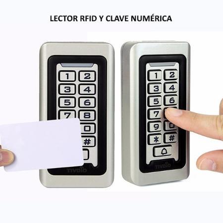 Control de Acceso RFID de Metal Táctil a prueba de agua