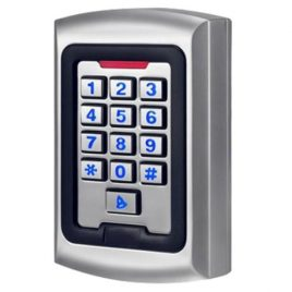Control de acceso RFID de Metal con cubierta impermeable