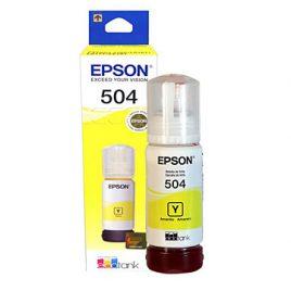 Epson 504 – 70 ml – amarillo