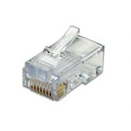 CONECTOR DE RED RJ45, CAT6 PARA CABLE ETHERNET