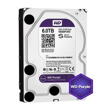 WD PURPLE 6TB   WD60PURZ – SATA III, 6.0 Gb / s.