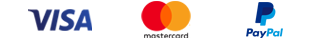 Logos visa mastercard paypal