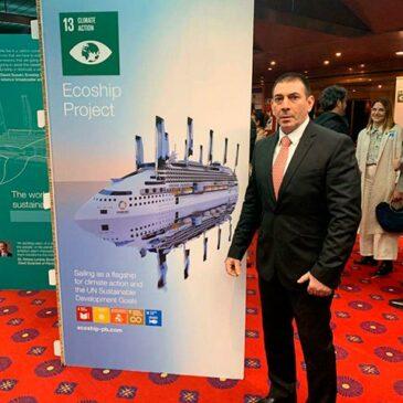 """Grupo F&S asiste a recepción a bordo del """"Peace Boat"""""""