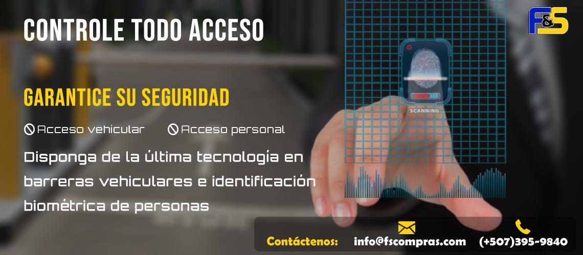 Facilitys & Services Corp. Control de Acceso Slide