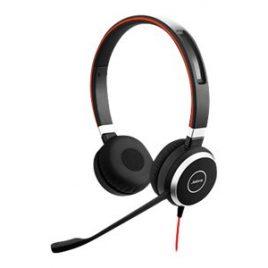 Jabra Evolve 40 UC stereo – Auricular – en oreja