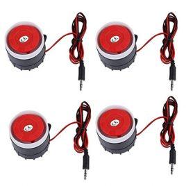 Bocina sirena sistema de alarma de sonido de advertencia para seguridad en el hogar