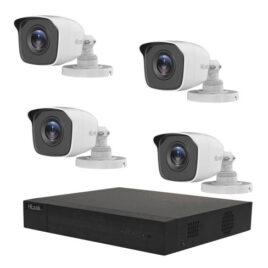 HIL/1080P/DVR-204Q-K1+4THC-B120-M/PowerCable/1TBHDD