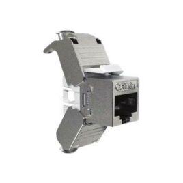Nexxt – Inserto modular – RJ-45 – plata