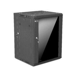 Nexxt Solutions Infrastructure – Gabinete de Pared – Semi Ensamblado – Black – SKD 15U 19″ D550mm