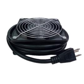 Nexxt Solutions – Unidad de ventilación – CA 100-240 V – negro