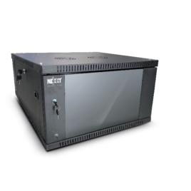 Nexxt Solutions SKD – Armario – instalable en pared – negro, RAL 9005 – 4U – 19″
