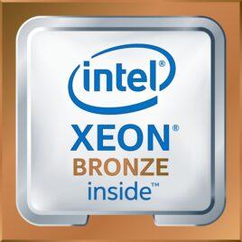 Intel Xeon Bronze 3106 – 1.7 GHz – 8 núcleos – 8 hilos – 11 MB caché – LGA3647 Socket
