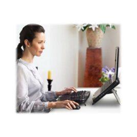 Logitech Wireless Wave Combo MK550 – Juego de teclado y ratón – inalámbrico – 2.4 GHz – inglés