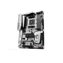 MSI – X370 Xpower Gaming Titanium – Motherboard – ATX – AM4 – AMD X370 – para Ryzen