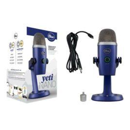 Blue Microphones Yeti Nano – Micrófono – USB – vivid blue
