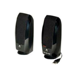 Logitech S150 Digital USB – Altavoces – para PC – USB – 1.2 vatios (Total) – negro