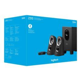 Logitech Z-313 – Sistema de altavoces – para PC – canal 2.1 – 25 vatios (Total)