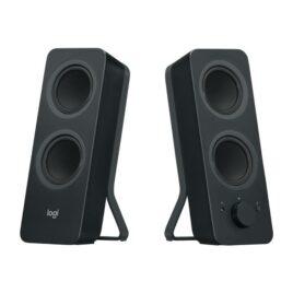Logitech Z207 – Altavoces – para PC – canal 2.0 – inalámbrico – Bluetooth – 5 vatios (Total)