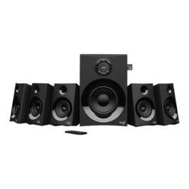 Logitech Z607 – Sistema de altavoces – para PC de teatro en casa – canal 5.1 – inalámbrico