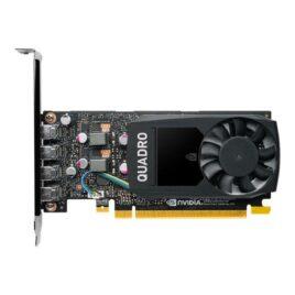 NVIDIA Quadro P1000 – Tarjeta gráfica – Quadro P1000 – 4 GB GDDR5 – PCIe 3.0 x16 perfil bajo