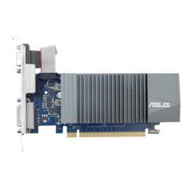 ASUS GT710-SL-2GD5 – Tarjeta gráfica – GF GT 710 – 2 GB GDDR5 – PCIe 2.0 – DVI, D-Sub, HDMI
