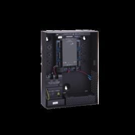 AC-225IP-BU Controlador para 2 lectores, incluye gabinete en negro y fuente de alimentación, 2 lectores expandibles (4 lectores en total)