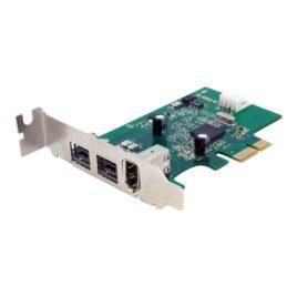 StarTech.com Adaptador Tarjeta FireWire PCI-Express Bajo Perfil 1394a/b
