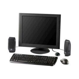 Logitech S-120 – Altavoces – para PC – 2.3 vatios (Total) – negro