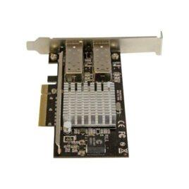 StarTech.com Tarjeta PCI Express de Red de Fibra de 10GB con 2 Puertos de SFP+ Abiertos
