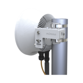 Radio Backhaul PTP en frecuencia 24 GHz, MIMO 4X4:4, 1.5 Gbps, Antena integrada 33 dBi, IP67