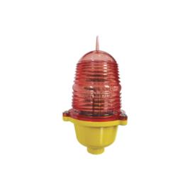 Estrobo Led de Obstrucción Color Rojo (110 Vca de Entrada) / Luz fija