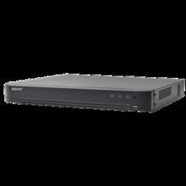 DVR 4 Megapixel / 24 Canales TURBOHD + 8 Canales IP / 2 Bahías de Disco Duro / 1 Canal de Audio
