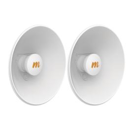 Par de Antenas Modulares Dual Slant, 4.9 – 6.4 GHz, Dimensiones (27 cm), Apertura 45°