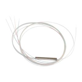 Splitter (Divisor Óptico) tipo PLC, de 1×4, para fusión (sin conectores)