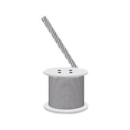 Cable retenida, resistencia 603 kg, diámetro 1/8″ (Metro).