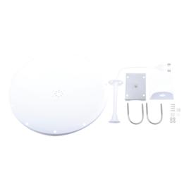 Antena Direccional, Frecuencia extendida de (4.8 – 6.5 GHz), ganancia 28 dBi, dimensiones (2 ft)
