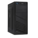 Xtech – Desktop – All black – ATX – pc case 600W ps
