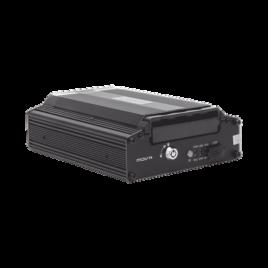 Tripod Mobile Recorder Video, admite 4 canales AHD hasta 2MP + 1 canal IP hasta 2MP. Compresión de video H.265